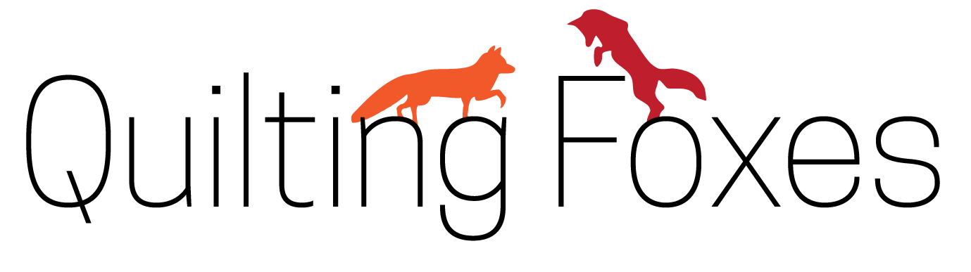 quilting foxes logo